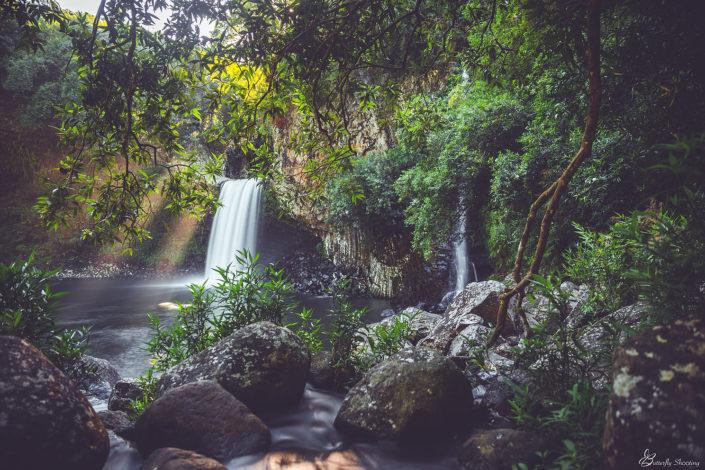 Bassin la Paix, Cascade Réunion