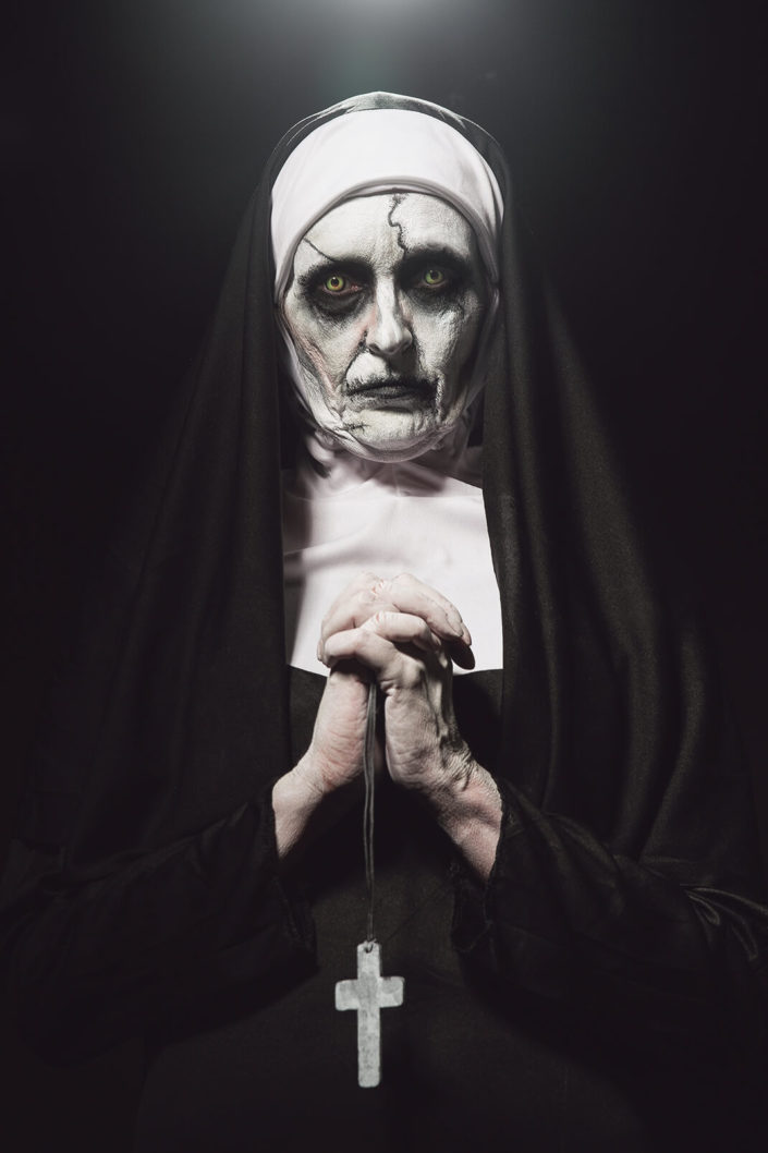 Makeup Valak The Nun