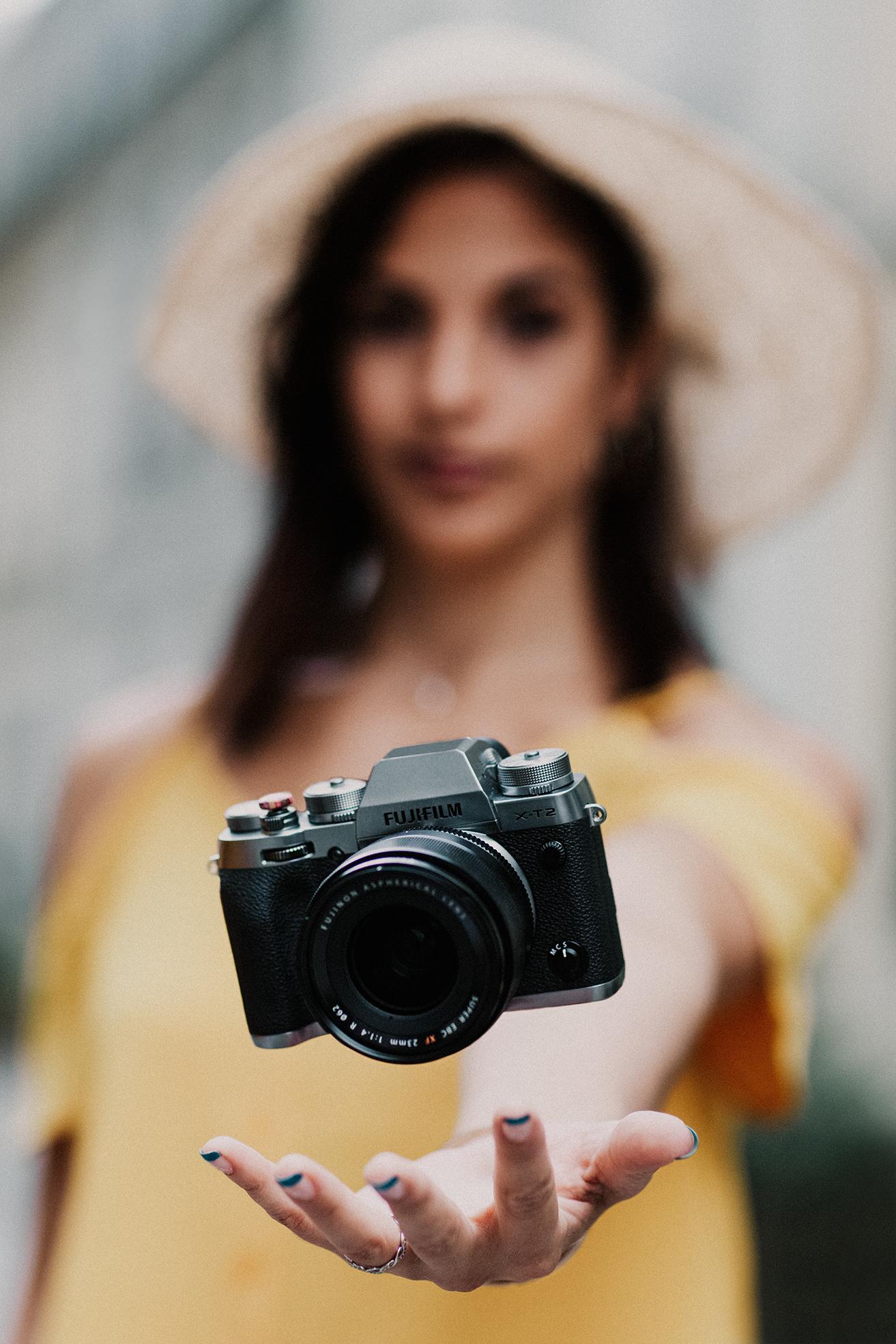Autoportrait photographe