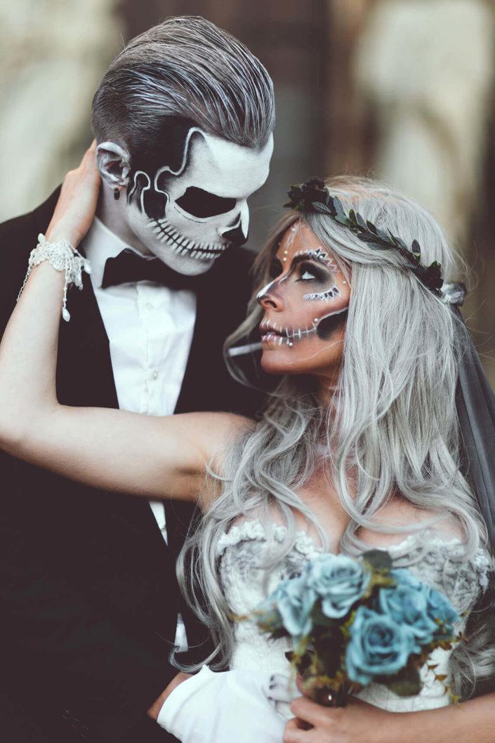 Makeup Mariés cadavériques