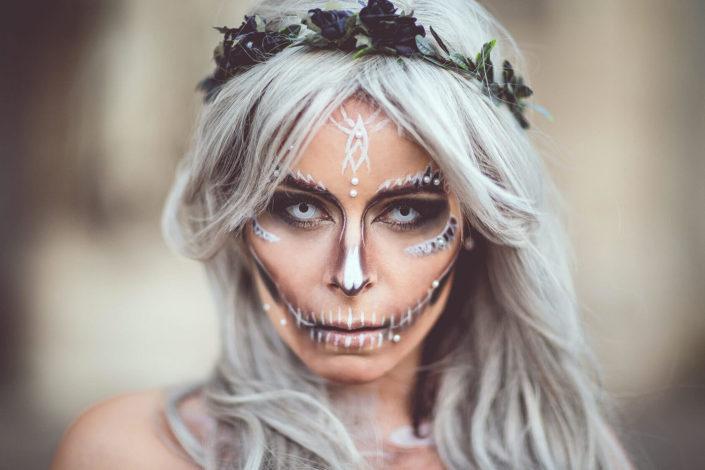 Makeup Santa Muerte