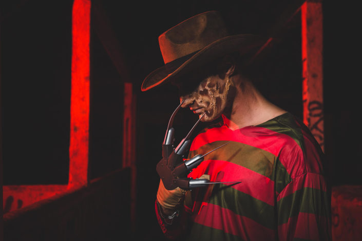 Makeup Freddy Krueger