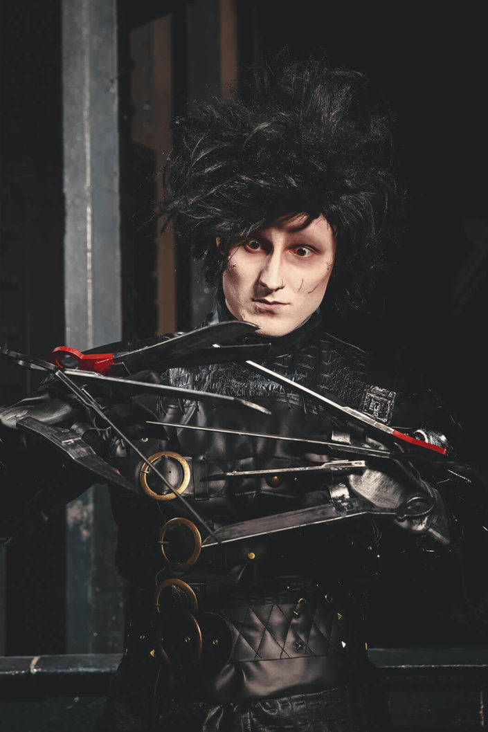 Makeup Edward aux mains d'argent