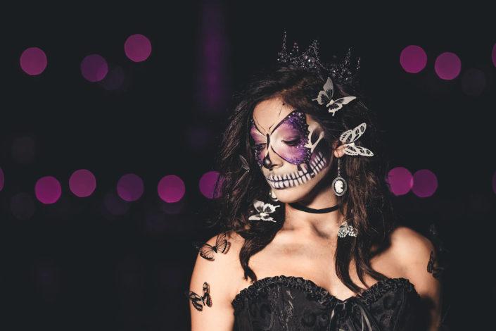 Makeup squelette