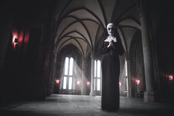 Makeup Valak The Nun